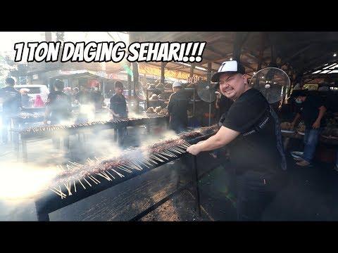 GILA!!! HABIS 1 TON DAGING DALAM SEHARI!!!