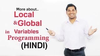 What is Local and Global Variables in C/C++(HINDI)