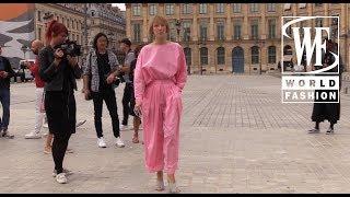 Street Style Неделя Моды Haute Couture в Париже Часть 1