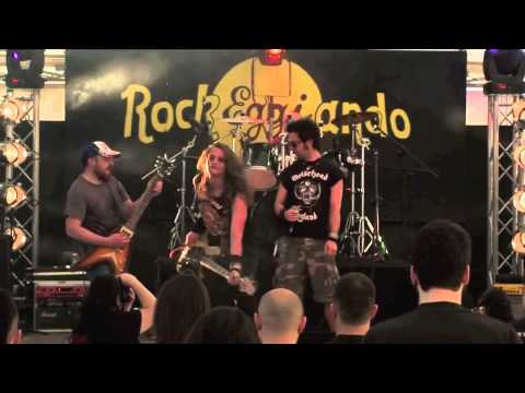 Zombie Scars - Dead Eyes live @ RockEGGIando 2011 REMIX