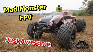 FPV BSD Racing Mad Monster 4WD Electric RC Monster Truck