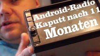 Androidradio kaputt Garantiebedingungen des Herstellers Lächerlich