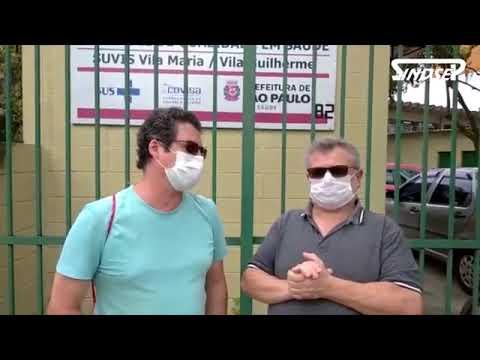 Sindsep esteve na UVIS Vila Maria/Vila Guilherme: unidade não tem álcool em gel e nem EPIs