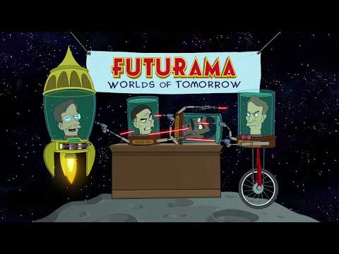 Futurama: Worlds of Tomorrow - Official Launch Date Trailer with Stephen Hawking