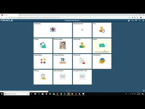 Peoplesoft tutorial for beginners - YouTube