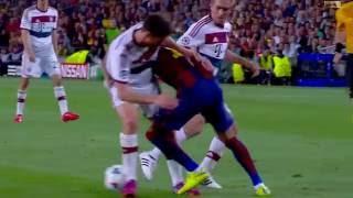 Neymar Jr  (vs Bayern Munich) UCL Home 2014   2015 HD 1080i English Commentary