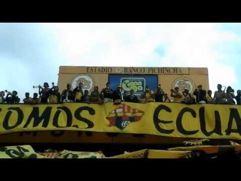 """""""Trompetas de la Sur - Esta es la barra brava de los toreros"""" Barra: Sur Oscura • Club: Barcelona Sporting Club"""