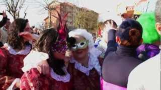 preview picture of video 'Le maschere del carnevale Pontecorvese 2013-Parte 1'