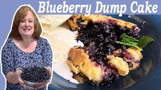 blueberry recipes with yellow cake mix