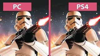 Star Wars: Battlefront – PC Ultra vs. PS4 Graphics Comparison (Beta) [FullHD][60fps]