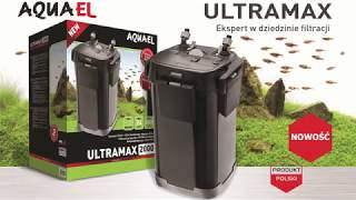 Nowe filtry AquaEL ULTRAMAX - nowość z Norymbergii