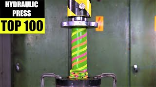 Top 100 Best Hydraulic Press Moments VOL 2 | Satisfying Crushing Compilation
