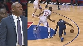 Harrison Barnes Game Winner vs Clippers with 3.7 Seconds Left! Jamal Crawford Crossovers!