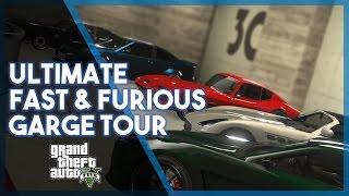 Grand Theft Auto 5 | 60 Fast & Furious Cars (Garage Tour)
