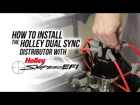 How To Install The Holley Dual Sync Distributor with Sniper EFI