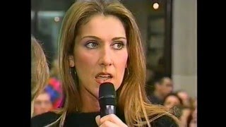 Celine Dion   That's The Way It Is (Today Show 1999)