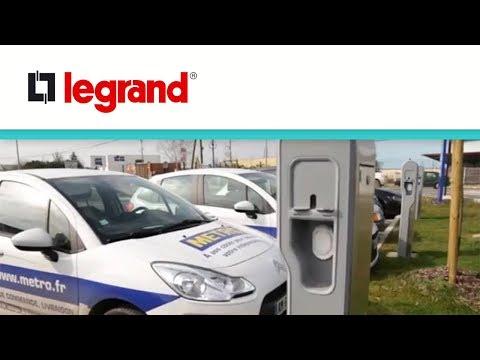 Pied pour fixation au sol des bornes métal Green'up Premium véhicule électrique