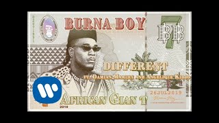 Burna Boy   Different (feat. Damian Marley And Angelique Kidjo) [Official Audio]