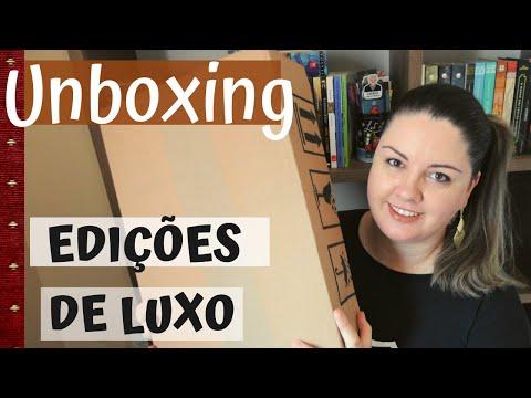 Unboxing de clássicos em edições de LUXO | Leitura por Amor