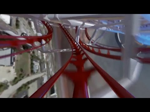 The First Demo Video Of The World's Tallest Roller Coaster Is Terrifying