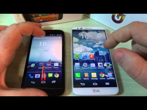 Sfida video: Motorola Moto G vs LG G2