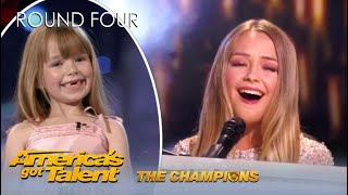 Connie Talbot: Viral BGT Child Star Is BACK With Original Song On @America's Got Talent Champions