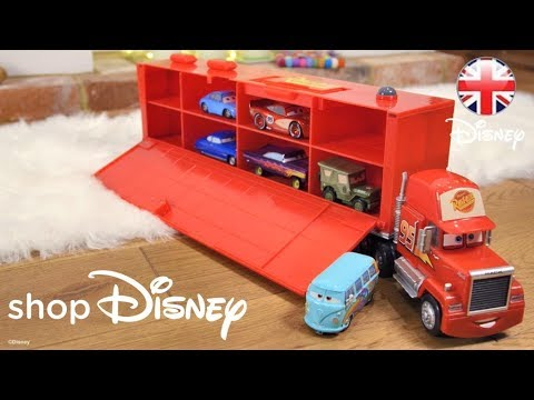 ShopDisney | Cars Toys - Check Out Mack Friction Motor Hauler! | Official Disney Pixar UK