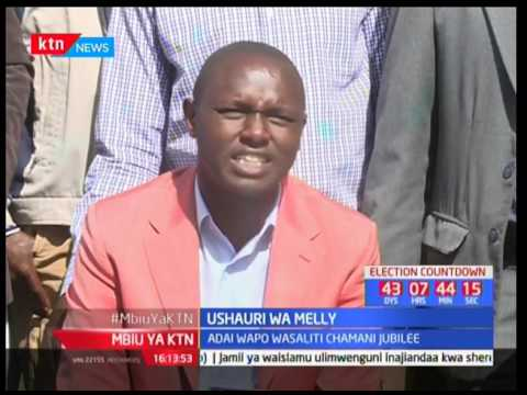 Ushauri wa Melly : Adai wapo wasaliti chamani Jubilee