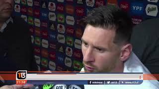 La furia de los palestinos con Lionel Messi