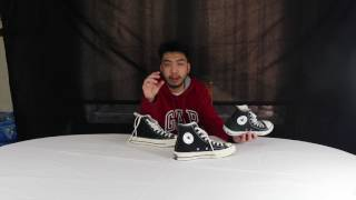 Converse Chuck Taylor- 70s All Star Hi: Unboxing, Review & On Feet