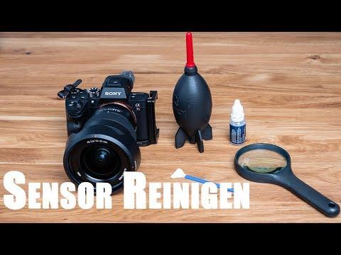 Sensor Reinigung Sony A7R III Kamera