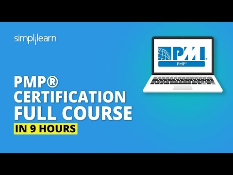 PMP® Certification Full Course In 9 Hours | PMP® Training Videos ...