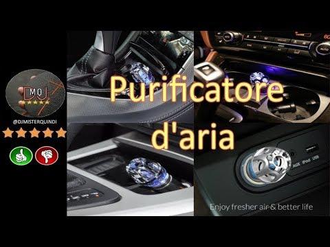 🎬AMAZON►FRiEQ Purificatore Aria Auto (ITA)