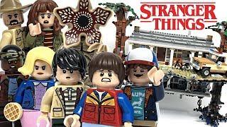 LEGO Stranger Things Upside Down review! 2019 set 75810!