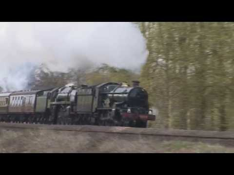 Steam locomotives in England and Wales between May 2008 & Ju…