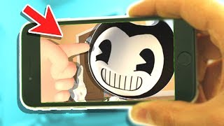 BABY HANDS COMES TO MOBILE! SUMMONING BENDY RITUAL ON A PHONE!? | Baby Hands VR Jr (Mobile Gameplay)