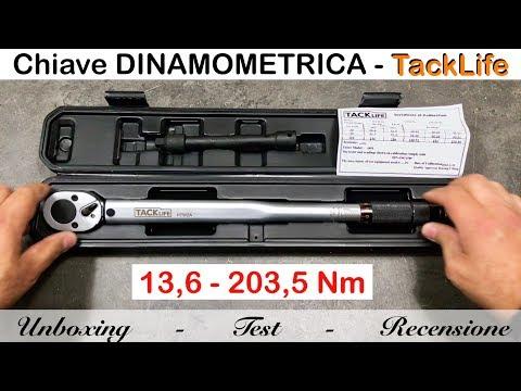 Chiave dinamometrica HTW2A TackLife 13.6 - 203.5. PERFETTA. Recensione e confronto con USAG
