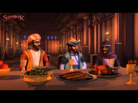 Superbook: The First Christmas DVD movie- trailer