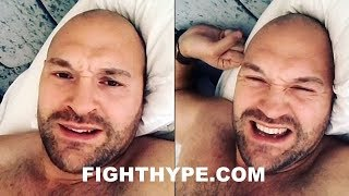 TYSON FURY REACTS TO DEONTAY WILDER