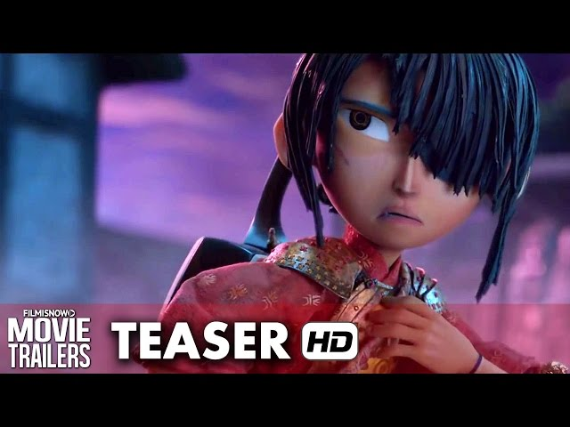 Kubo and The Two Strings Official Teaser Trailer (2016)