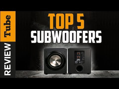 ✅Subwoofer: Best Subwoofer 2018 (Buying Guide)