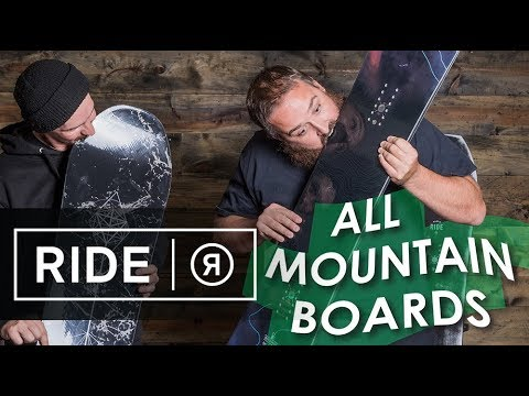 2018 Ride All-Mountain Snowboards – Overview – TheHouse.com