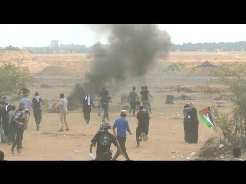 Decenas de muertos en represión de Israel a palestinos por el traslado de embajada EE.UU.