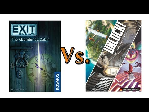 Spoiler Free Unlock vs  Exit the Game