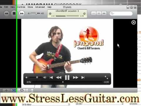 Learn Guitar Chords with the Jamorama Chord-book