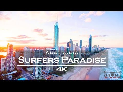 Surfers Paradise from the air