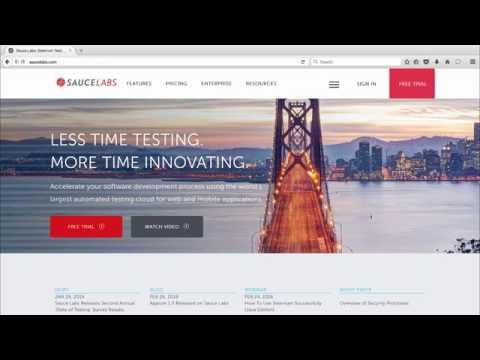Automated Mobile Testing with Sauce Labs Related YouTube Video