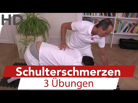Gymnastik Video mit Arthrose des Schultergelenks