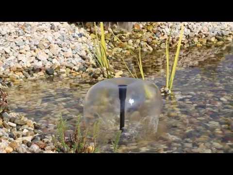 CLGarden® Solarpumpe SP-S4 für Teich, Springbrunnen oder Wasserspiel