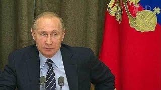 В.Путин сообщил, каким будет ответ России на развертывание американских баз в Польше и Румынии.